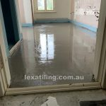 Floor preparation for tiling Melbourne