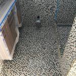 bathroom wall mosaic tiling