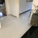 floor mosaic tiling