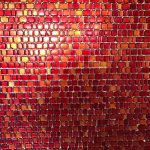 glass mosaic wall tiling
