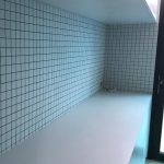 kitchen splach back wall japanise mosaic tiling