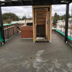 large format floor screed