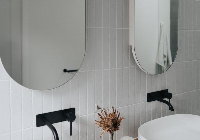 Bathroom subway tiling Melbourne