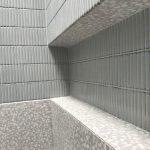 bathroom wall mosaic finger tiling