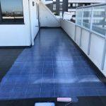 tile clear waterproofing membrane system