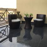 Balcony tiling water proofing