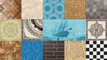 Type of tiles by surface